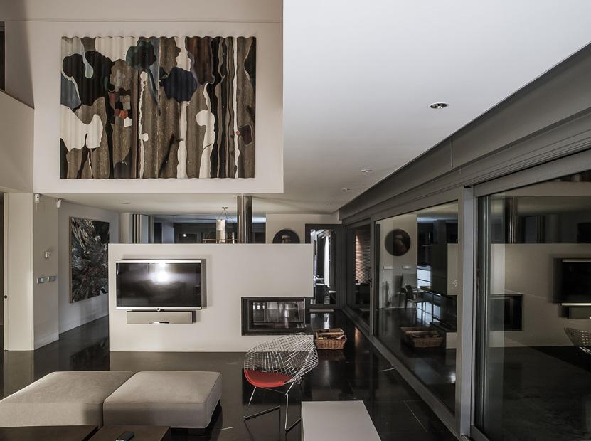 Estudio alvarez sala vivienda en curbiello pe n en for Homify casas de campo